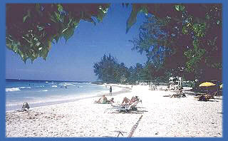 Rockley Beach also known locally as Accra Beach. CLICK to take you to accommodation here