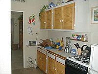 Mystic Rose Apt kitchenette