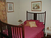 Mystic Rose Cottage double bedroom